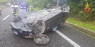 Sassari, incidente stradale sulla SS.131