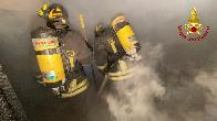 Torino, incendio capanno nel territorio di Villardora
