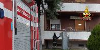 Ancona, incendio frigo a Moie di Miolati Spontini