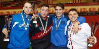 Forlì-Cesena, il VF Alberto Arpino terzo ai Campionati Italiani U23 di sciabola
