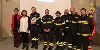 Parma, la XIV edizione del Premio Armando Prada é stato assegnato al Corpo Nazionale dei Vigili del Fuoco