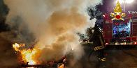 Nuoro, auto in fiamme a Irgoli