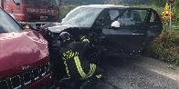Ancona, incidente stradale in frazione Sappanico
