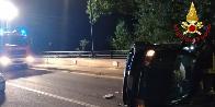 Ancona, incidente stradale a Sassoferrato