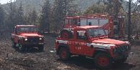 Nuoro, vasto incendio nel comune di Posada