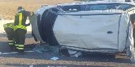 Caserta, incidente stradale a Castel Volturno
