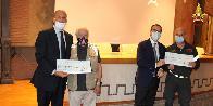 Roma, cerimonia di consegna del contributo Fondo di solidarietà Elveno Pastorelli