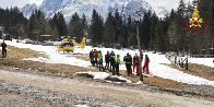Udine, valanga travolge tre escursionisti sul monte Jof Fuart