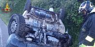 Nuoro, grave incidente sulla provinciale 22 Orgosolo-Mamoiada