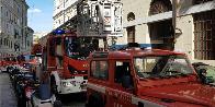 Trieste, incendio mansarda