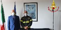 Udine, il nuovo Direttore Regionale in visita al comando