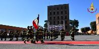 Giuramento del novantesimo corso allievi Vigili del fuoco