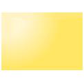 Disegno di un'ogiva di colore giallo