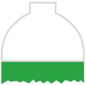 Disegno di un'ogiva di colore bianco ed il corpo verde