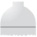 Disegno di un'ogiva di colore alluminio ed il corpo alluminio