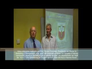 04/06/2015: Intervista al Prof. Fabrizio Santangelo realizzata in occasione del Master in Marketing e Management dello sport all'Università di Roma Tor Vergata