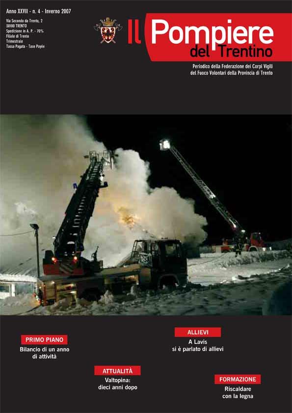 Il Pompiere del Trentino n. 4 - 2007